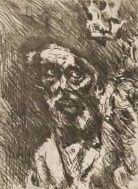 Lovis Corinth - Death and the Aged