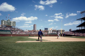 Carol Highsmith - Ballgame at historic Wrigley Field Chicago Illinois