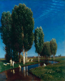 Arnold Bocklin - Summer Day, 1881