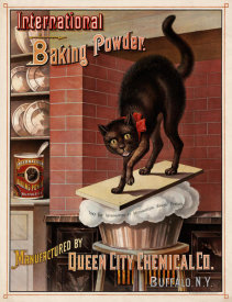 G.H. Dunston, Lith. - International Baking Powder Advertisement