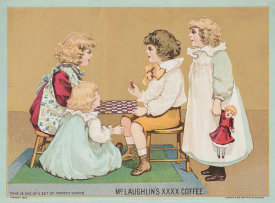 Cosack & Co., Buffalo, New York, USA - Advertisement for McLaughlin's Coffee from the Children's Scenes and Life Series