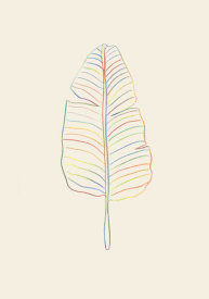 Uppsala Studio - Banana Rainbow Leaf