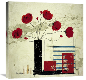 Isabelle Maysonnave - Les Coquelicots II