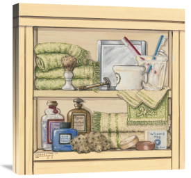 Janet Kruskamp - His Bathroom Shelf