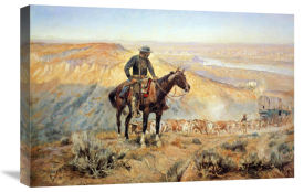 Charles M. Russell - The Wagon Boss