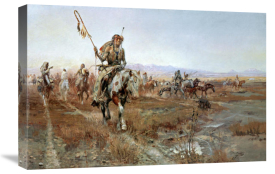 Charles M. Russell - The Medicine Man