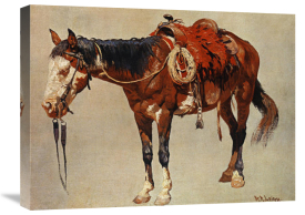 William R. Leigh - Navajo Pony