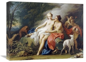 Jacopo Amigoni - Jupiter and Callisto