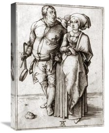 Albrecht Durer - A Cook and His Wife