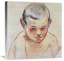 Paul Gauguin - Head of a Boy