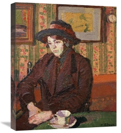 Harold Gilman - Girl With a Tea Cup