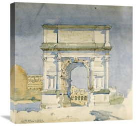 Charles Rennie Mackintosh - Rome, Arch of Titus