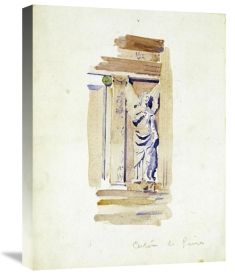 Charles Rennie Mackintosh - Study of an Angel Statue