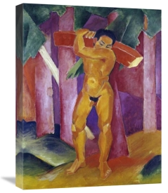 Franz Marc - The Tree Porter