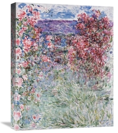 Claude Monet - The House in the Roses
