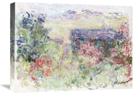 Claude Monet - The House Through the Roses