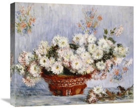 Claude Monet - Chrysanthemums