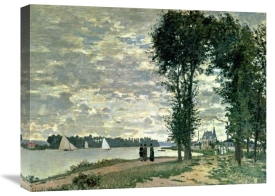 Claude Monet - The Banks of The Seine at Argenteuil