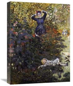 Claude Monet - Camille and Jean in the Garden at Argenteuil