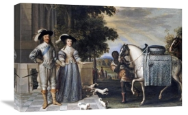 Daniel Mytens - King Charles I and Queen Henrietta Maria