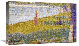 Georges Seurat - Women On The River Bank