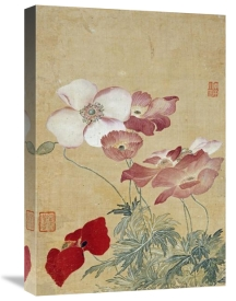 Yun Shouping - Poppies