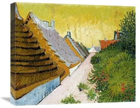 Vincent Van Gogh - Farmhouses at Saintes-Maries