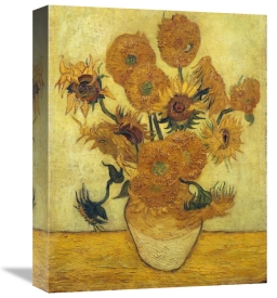 Vincent Van Gogh - Vase with Fifteen Sunflowers, 1889