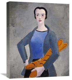 Christopher Wood - Girl With Bread