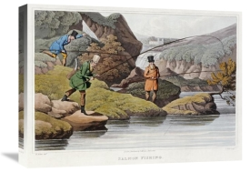 Samuel Henry Alken - Salmon Fishing