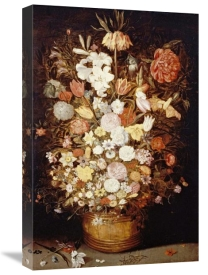 Jan Brueghel the Younger - A Crown Imperial, a Peony and Other Flowers