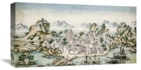 Chinese School - View of Macao