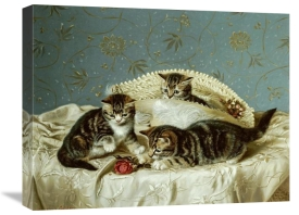 Horatio Henry Couldery - Kittens Up To Mischief