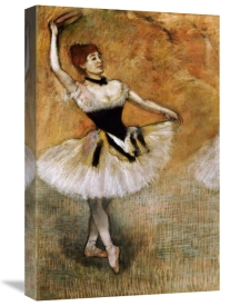 Edgar Degas - Dancer With a Tambourine
