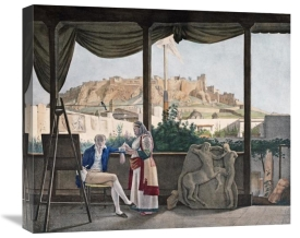 Louis Dupre - A View of The Acropolis