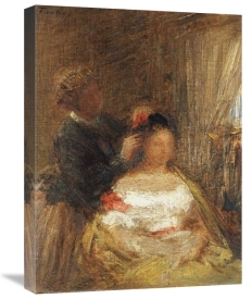 Henri Fantin-Latour - The Hairdresser