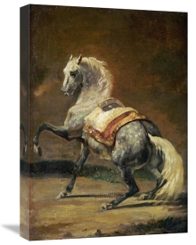 Theodore Gericault - Dappled Grey Horse