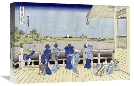 Hokusai - Sazai Hall of Five-Hundred-Rakan Temple