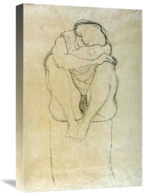 Gustav Klimt - Seated Woman