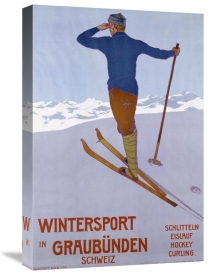 Walter Koch - Wintersport In Graubunden