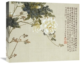 Ju Lian - Flowers. From An Album of Ten Leaves