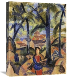 August Macke - Women Collecting Brushwood