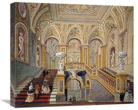 Frederick J Sang - Interior Views of The Conservative Club