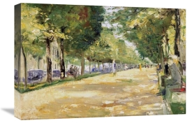 Lesser Ury - The Tiergarten Park, Berlin
