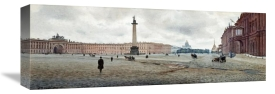 Mikhail Abramovich Balunin - The Hermitage Palace and Palace Square