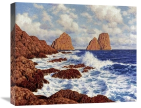 Ivan Federovich Choultse - The Rocks at Capri