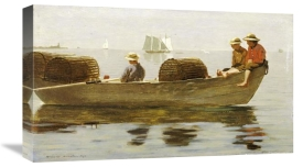 Winslow Homer - Three Boys In a Dory