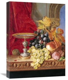 Edward Ladell - Grapes and a Peach