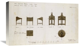 Charles Rennie Mackintosh - Designs For Writing Desks