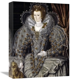 16th Century English School - Queen Elizabeth of England